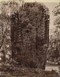 Ruins of a brick temple at Pakbirra, Manbhum District